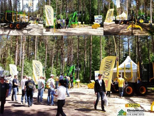 HERMANOS TOIMIL GARCIA, S.L participa en la mayor feria forestal del mundo , Elmia Wood, del 5 al 8 de Junio 2013.